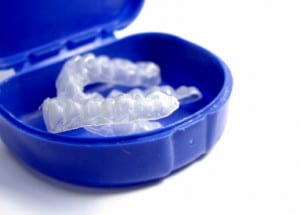Dr. Cummiskey will create teeth whitening trays for you.